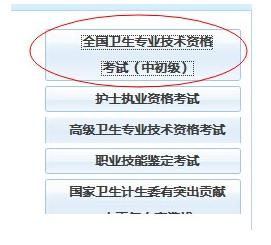 中国卫生人才网2015护师资格考试报名系统 卫