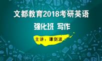 文都教育(谭剑波)2018考研英语强化班写作