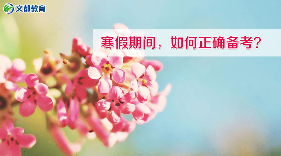 2019考研专业课:寒假期间,如何正确备考?