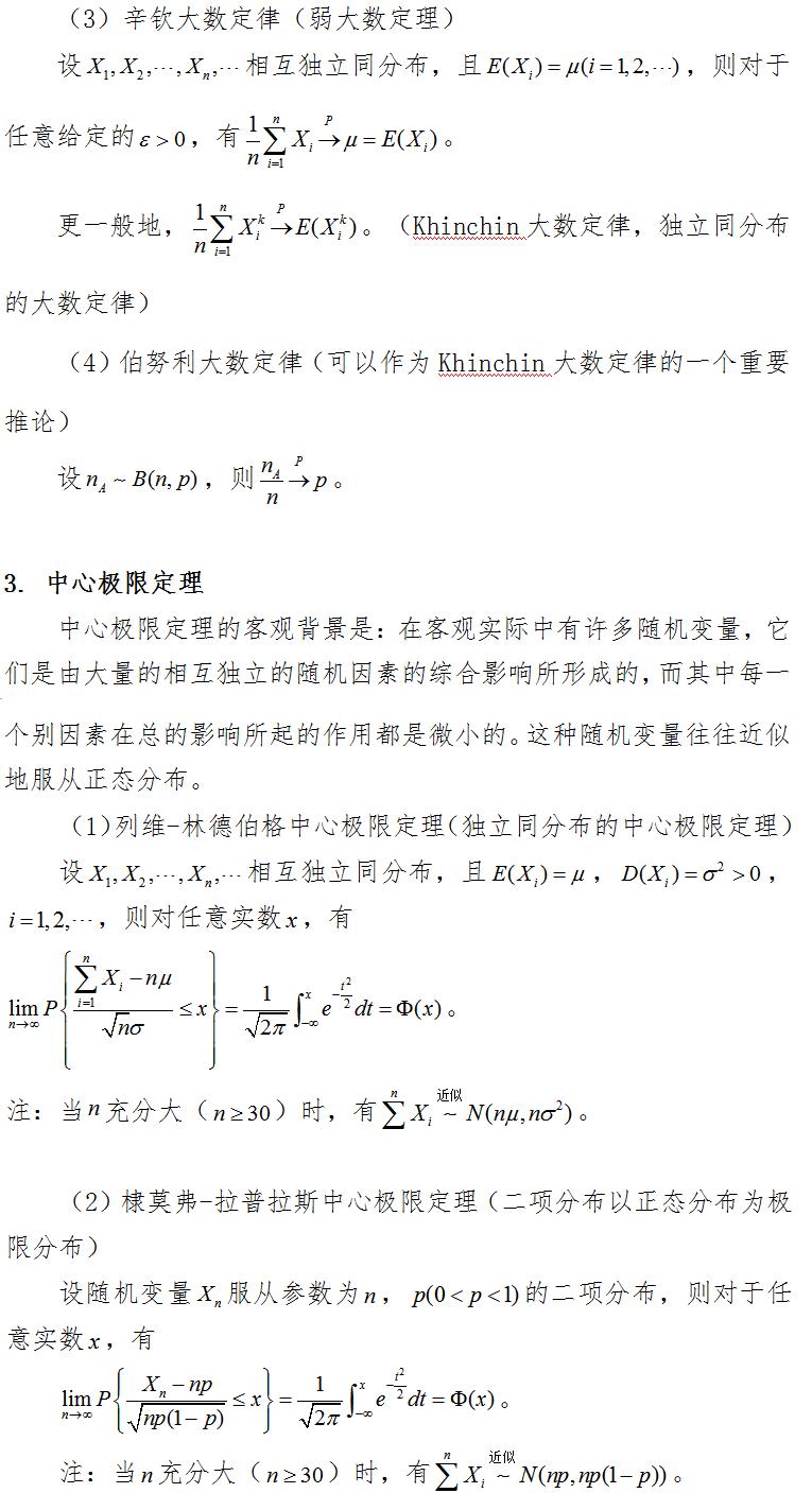 2019考研数学复习:如何复习概率定理?