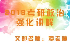 文都教育2019考研政治强化讲解毛中特(蒋老师)
